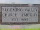 Blooming Valley Church Cemetery