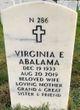 Profile photo:  Virginia E. Abalama