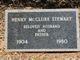 Henry McClure Stewart