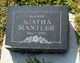 Agatha <I>Dyck</I> Mantler