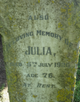 Julia <I>Lock</I> Collins