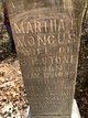 Martha Elizabeth <I>Moncus</I> Stone
