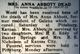 Profile photo:  Anna Pinkney <I>Loveless</I> Abbott