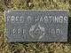 """Frederick O. """"Fred"""" Hastings"""