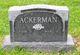 Profile photo:  John Donald Ackermann, Jr