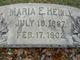 Maria Elisabeth <I>Heinly</I> Heinly