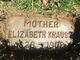 Elizabeth <I>Schwesinger</I> Krauss