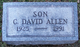 Profile photo:  Charles David Allen