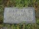 Profile photo:  Martha E. <I>Stuart</I> Adams