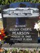 """Susan Cheryl """"Suzie"""" <I>Ferguson</I> Pearson-Branton"""