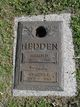 Harold Hedden