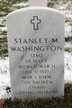 Stanley M Washington