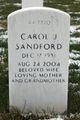 Carol Jean <I>Lund</I> Sandford
