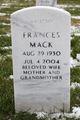 Frances Mack