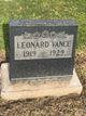 """Leonard """"Jackie"""" Vance"""