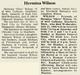 Hermina Olive <I>Michaux</I> Wilson