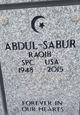 Profile photo:  Raqib Abdul-Sabur