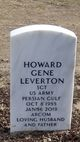 Profile photo: SGT Howard Gene Leverton