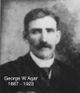 Profile photo:  George Wallace Agar