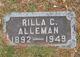 Profile photo:  Rilla Mae <I>Callander</I> Alleman