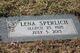 Lena B <I>Burket</I> Sperlich