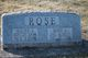 Walter S Rose