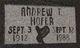 Profile photo:  Andrew T. Hofer