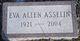 Eva Mae <I>Allen</I> Asselin