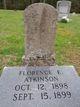 Profile photo:  Florence E. Atkinson