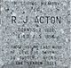 Profile photo:  R J Acton