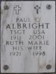 Profile photo:  Paul C Albright