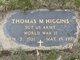 SGT Thomas M. Higgins