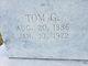 """Profile photo:  Thomas Green """"Tom"""" Acker"""