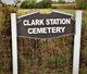 Clark Station Cemetery