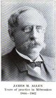 Dr James Morrell Allen