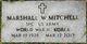 "Profile photo:  Marshall ""Pete"" Mitchell"