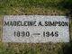 Profile photo:  Madeleine <I>Webb</I> Simpson