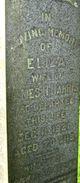 Eliza <I>Theakston</I> Harris
