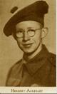 Profile photo: Pvt Herbert Ackerley