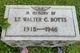 Lieut Walter Coleman Botts