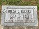 Hilda Lucy <I>Detjen</I> Luehrs