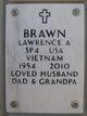 """Profile photo:  Lawrence Alan """"Larry"""" Brawn"""
