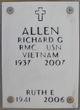 Profile photo:  Ruth Ellen Allen