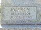 Profile photo:  Joseph West Mingo