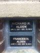 Profile photo:  Frances H. Alden