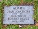 Profile photo:  Jean Josephine <I>Smith</I> Adams