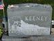 Margaret Elizabeth <I>Cole</I> Keeney