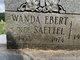 Wanda Marie <I>Saettel</I> Ebert