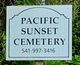 Pacific Sunset Memorial Park Cemetery