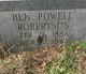 Ben Powell Robertson